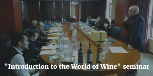 Introduction to the World of Wine course by Italian Sommeliers of China™