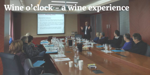 Wine o'clock – a wine experience by Italian Sommeliers of China™