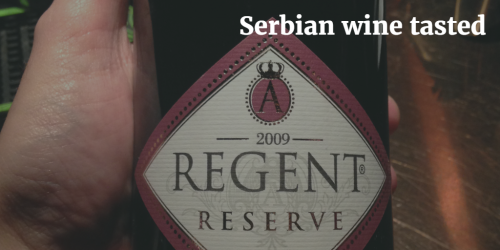Serbian wine tasted by Italian Wine & Food in China | Vito Donatiello