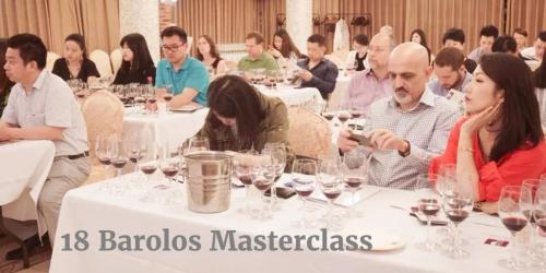 18 Barolo Masterclass by Italian Wine & Food in China | Vito Donatiello