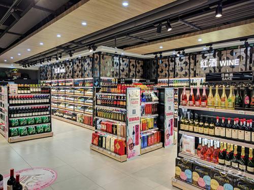 Hema wine area by Italian Wine & Food in China | Vito Donatiello