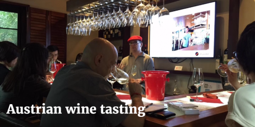 Austrian wine tasting by Wsana and Jorg | Vito Donatiello