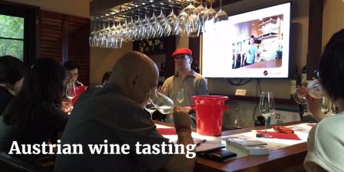 Austrian wine tasting by Wsana and Jorg | Vito Donatiello