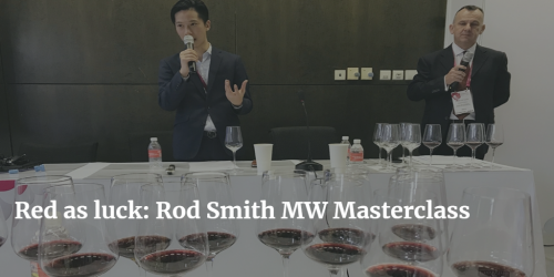 Rod Smith MW Masterclass by Italian Wine & Food in China | Vito Donatiello