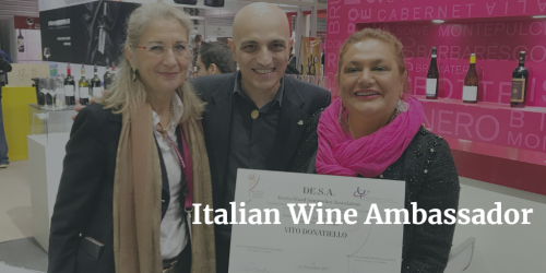 Vito Donatiello awarded Italian Wine Ambassador in China