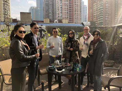 NihaoItaly private terrace wine tasting | Italian Wine & Food in China blog