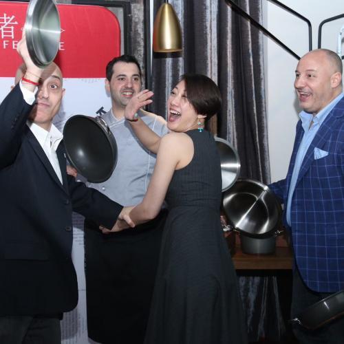 Group having fun | Italian Wine & Food in China blog