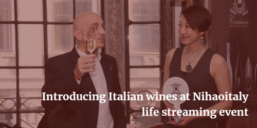 Introducing Italian wines at Nihaoitaly life streaming event | Italian Wine & Food in China blog