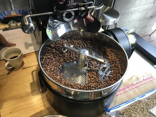 Roasting green coffee beans class | Italian Wine & Food in China blog