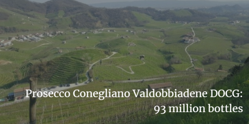 Prosecco DOCG 93 million bottles | Italian Wine & Food in China blog