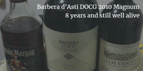Barbera d'Asti DOCG 2010: 8 years and still well alive | Italian Wine & Food in China blog