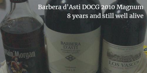 Barbera d'Asti DOCG 2010: 8 years and still well alive | Italian Wine & Food in China blog