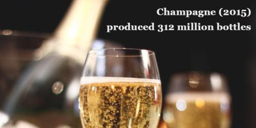 Champagne: in 2015 produced 312 million bottles by Italian Wine & Food in China