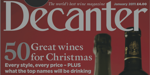 Decanter: facts and figures by Italian Wine & Food In China