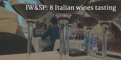 IW&SP: 8 Italian wines tasting by Italian Wine & Food In China