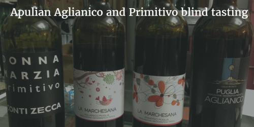 Apulian Aglianico and Primitivo blind tasting by Italian Wine & Food in China