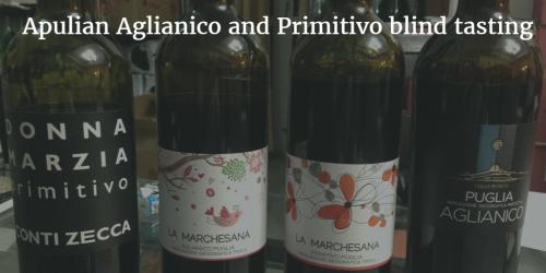 Apulian Aglianico and Primitivo blind tasting by Italian Wine & Food in China