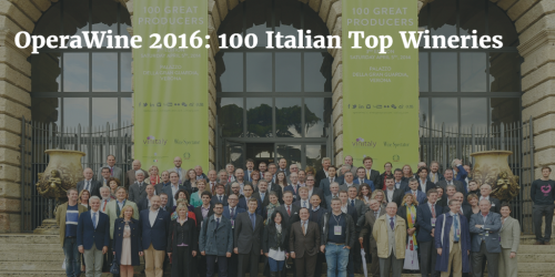OperaWine 2016 Top 100 Italian Wineries by Italian Wine & Food in China